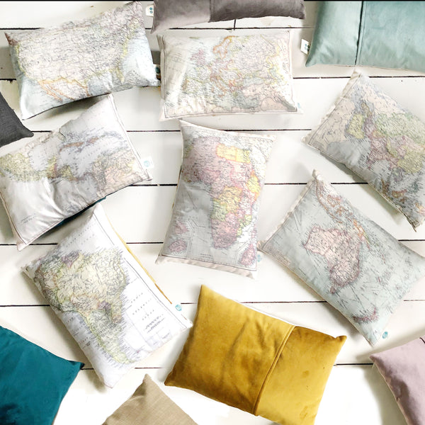 Continent cushions - seven different options