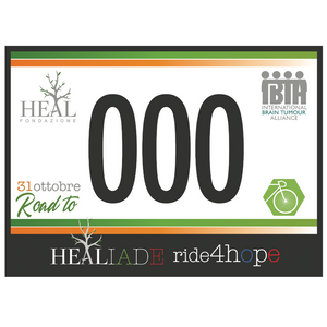Pettorale Road to HEALiade/Ride4Hope