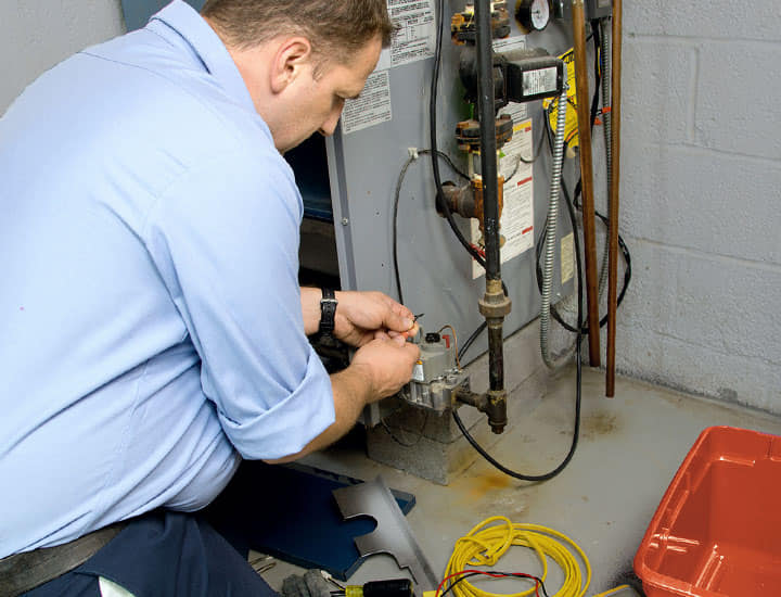 Boiler and furnace tune-up