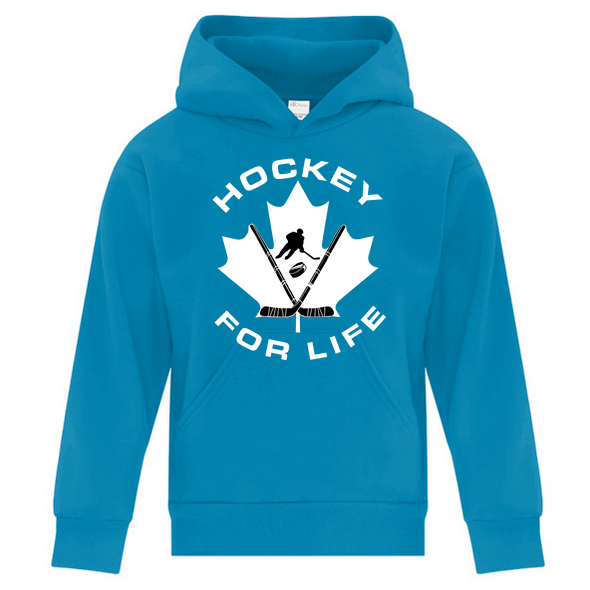 Hockey For Life - Youth Hoodie