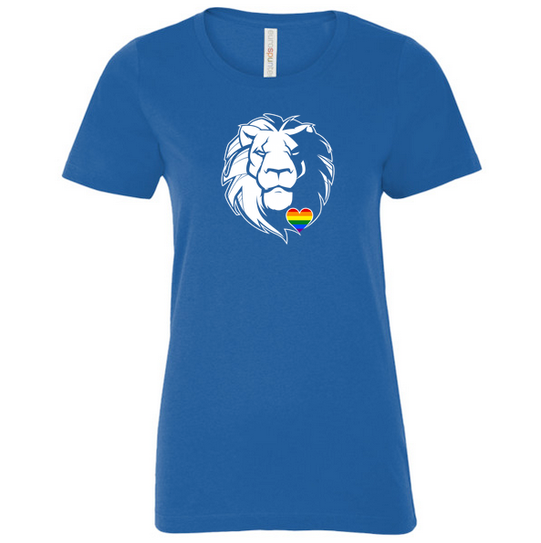 Lionheart T-Shirt - Womens Pride Big Lion Edition