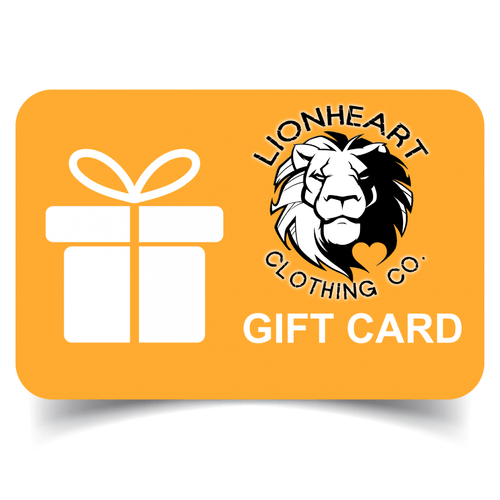 Lionheart Clothing Co. Gift Cards