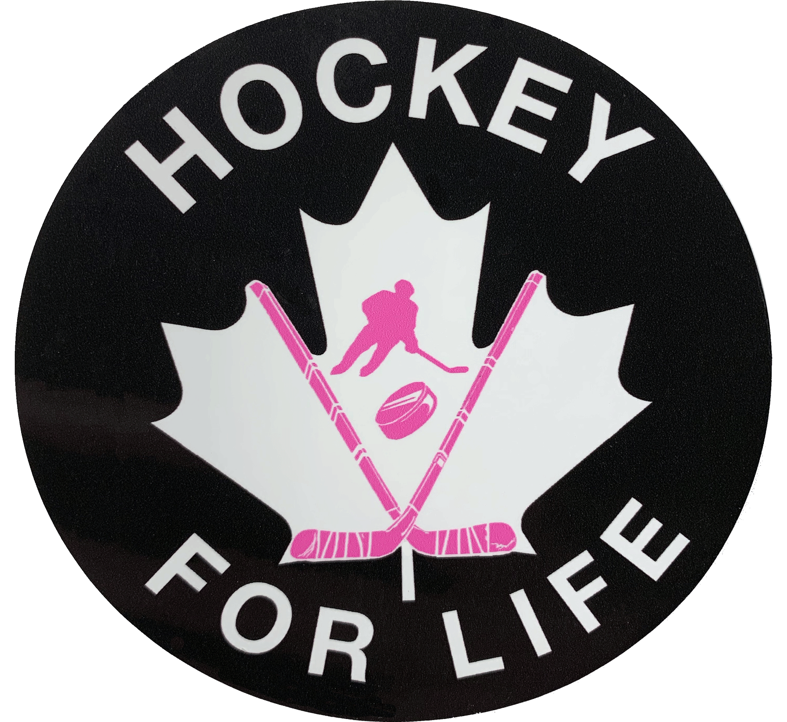 Hockey for Life Stickers - MIX - 2 for $5 - Frocked Up Clothing Co.