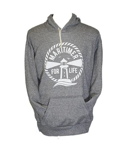 Made in the Maritimes Hoodie - Oxford Grey - Frocked Up Clothing Co.