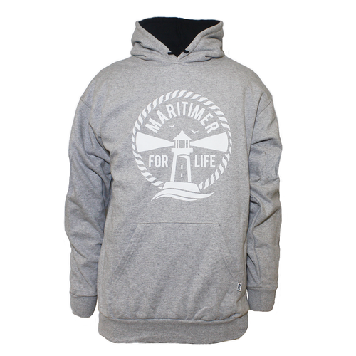 Made in Canada Hoodie - Grey - Frocked Up Clothing Co.