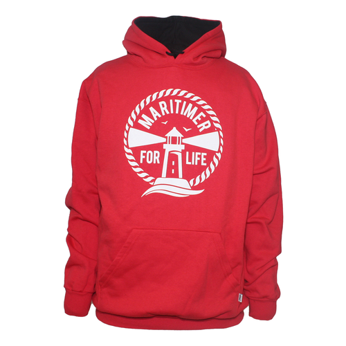 Made in Canada Hoodie - Red - Frocked Up Clothing Co.