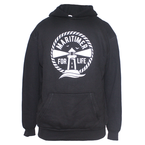 Made in the Maritimes Hoodie - Black - Frocked Up Clothing Co.
