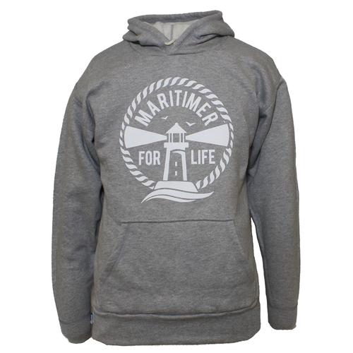 Made in the Maritimes Hoodie - Grey - Frocked Up Clothing Co.