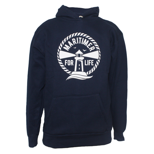 Made in the Maritimes Hoodie - Navy - Frocked Up Clothing Co.