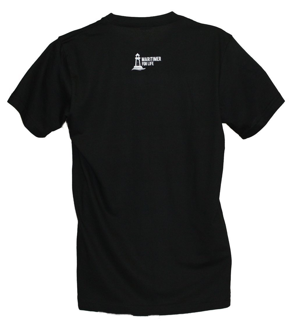 MFL Black and White T - 100% Organic Cotton - Frocked Up Clothing Co.