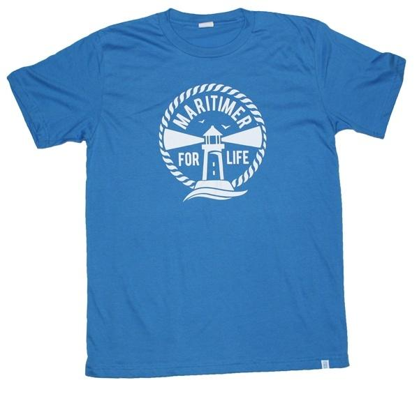 MFL Electric Blue T - 100% Organic Cotton - Frocked Up Clothing Co.