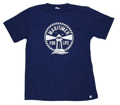 MFL Midnight Blue T - 100% Organic Cotton - Frocked Up Clothing Co.