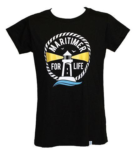 Women's Black T - 100% Organic Cotton - Frocked Up Clothing Co.