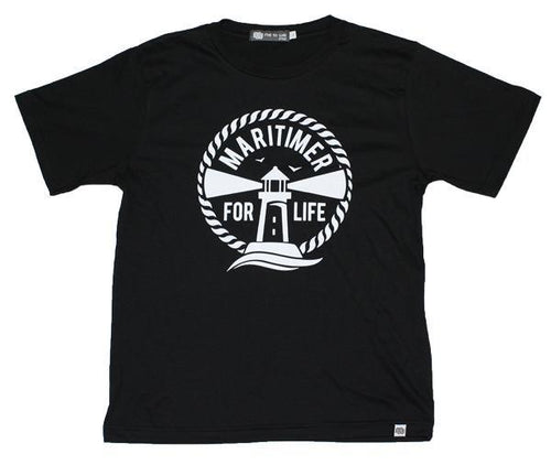 Youth Black and White T - 100% Organic Cotton - Frocked Up Clothing Co.