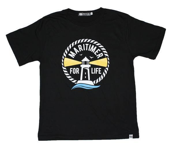 Youth Black T - 100% Organic Cotton - Frocked Up Clothing Co.