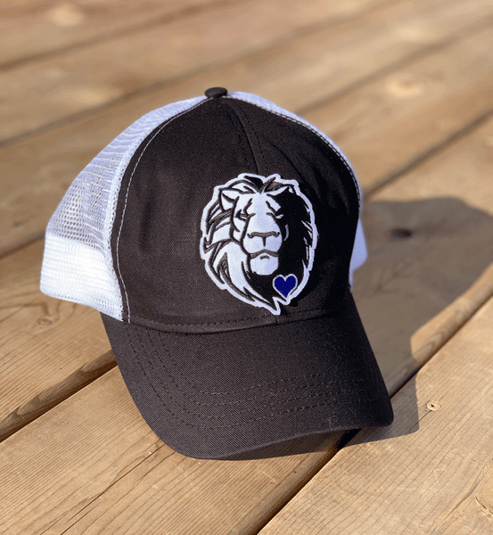 Lionheart - Blue Heart - Trucker