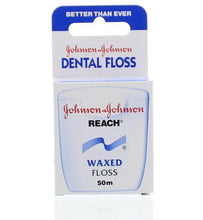 Load image into Gallery viewer, Floss (waxed) - Johnson & Johnson (50m)