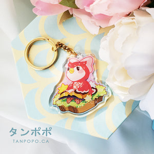 Celeste Acrylic Charm - Animal Crossing New Horison