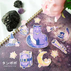 Celestial Witch Vinyl Sticker Pack