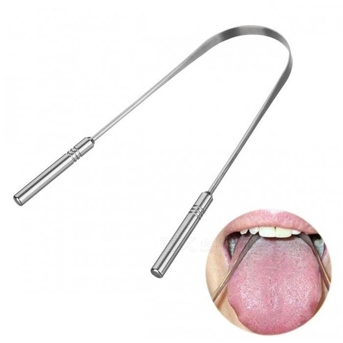 Simplee™ Stainless Steel Tongue Scraper - Simplee Beautee