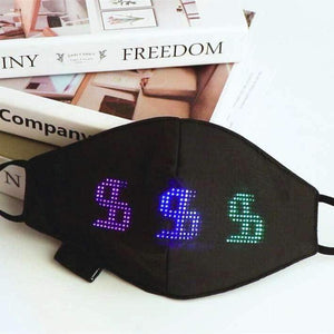 Simplee™ Programmable Bluetooth LED Mask