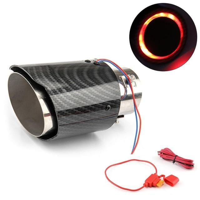 Simplee™ Carbon Fiber LED Exhaust Tip