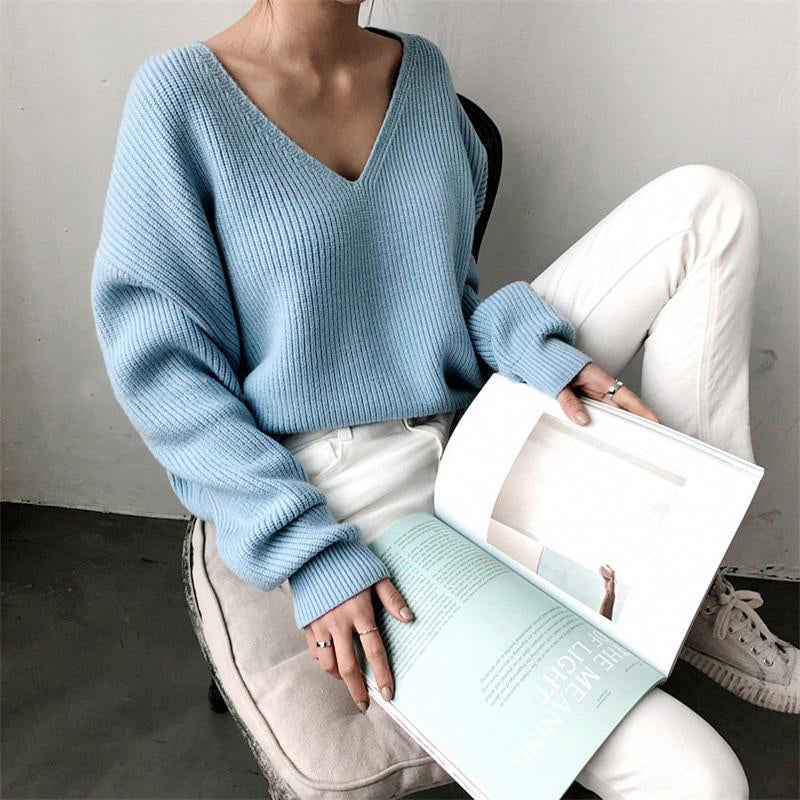 Amanda Chipped Hem Sweater