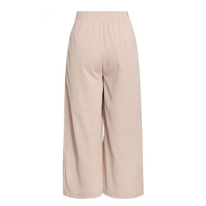 Dusty Pink Wide Leg Trousers