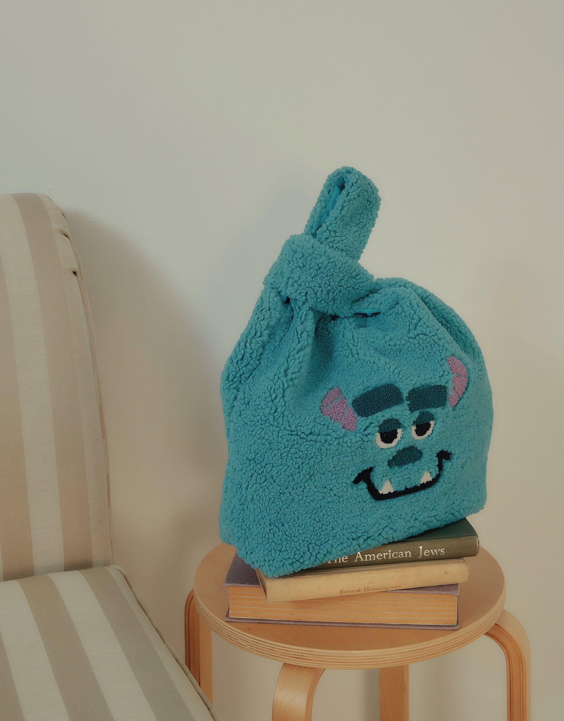Monsters Inc. Sulley Teddy Tote