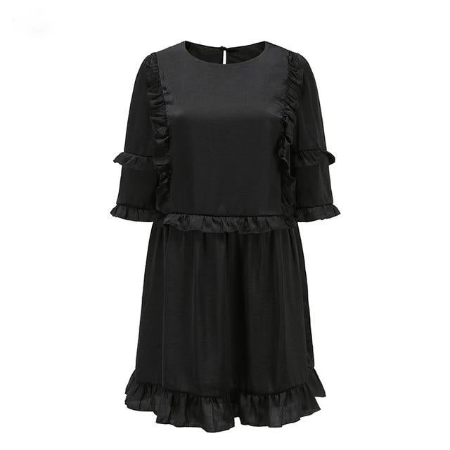 Tunic Ruffle Summer Dress