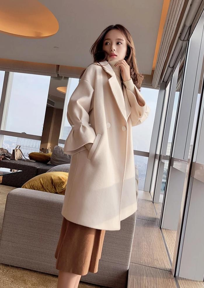 The Pearl Bell Cuffs Coat