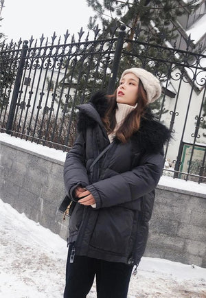 The Black Swan Down Jacket