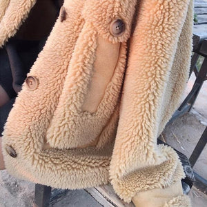 Oversized Teddy Coat