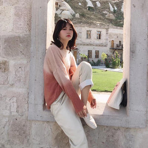 Ombre Soft Knit Sweater