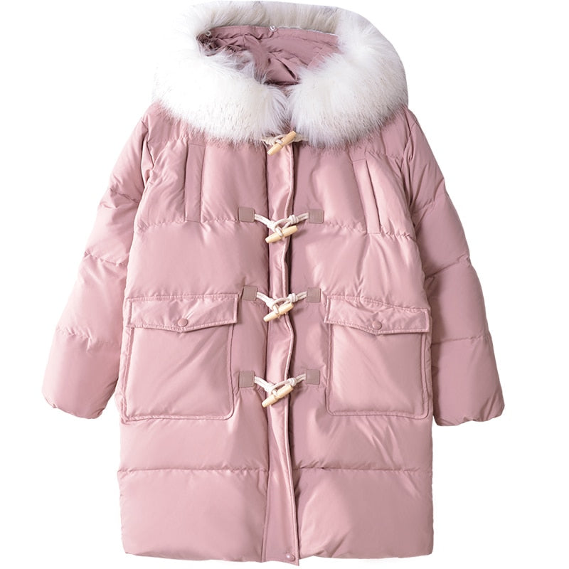 Toggle Down Jacket