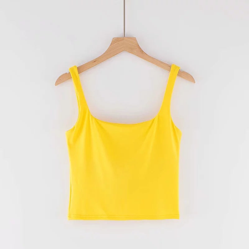 Candy Ruched Bust Crop Top