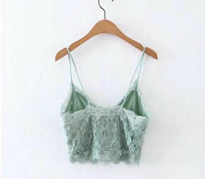 Lace Cropped Camisole
