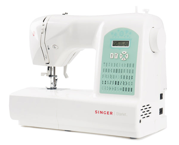 Singer Starlet 6660 - Heavy Duty with 60 stitch patterns - Sewing from Silk to Leather