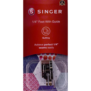1/4inch foot with Guide (quilting foot) - Original SINGER (retail pack)