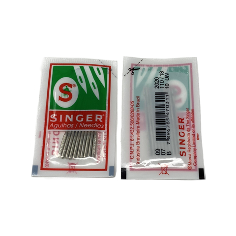10 x Singer Heavy Weight Needle Pack (2020) 110/18 (Heavy Duty)