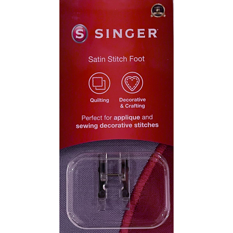 Satin Stitch Foot by Singer (in retail box)