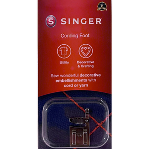 Cording Foot - Original SINGER (retail pack)