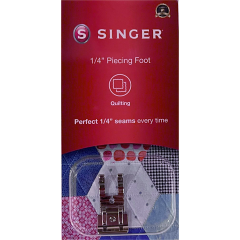 1/4inch piecing foot (quilting foot) by Singer (in retail box)