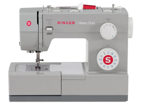 Singer Heavy Duty 4423 plus FREE Heavy Duty Roller Foot and Sewing Clip Pack - Heavy Duty - 60% stronger, Auto threader, Drop Feed, Popular Machine