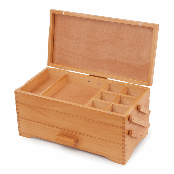 Craft Box - Cantilever Pine Wood