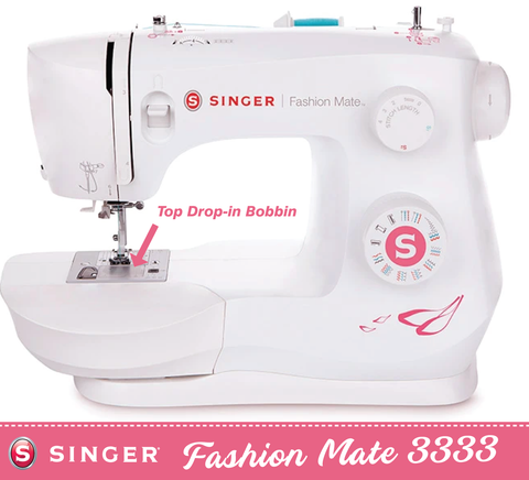 Singer Fashion Mate 3333 * latest 2021 model * with Auto needle threader and Drop and Sew bobbin - Preorder for delivery in December