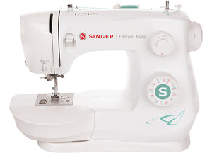 Singer Fashion Mate 3337 Sewing Machine with Drop-in Bobbin and One Step Buttonhole