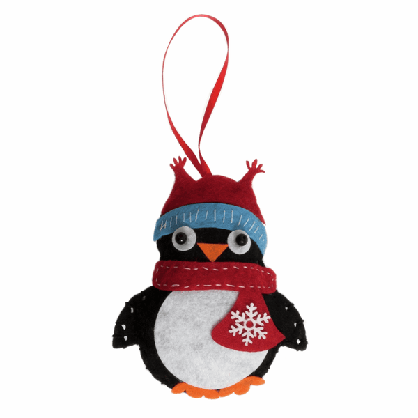 Felt Decoration Kit: Christmas: Penguin
