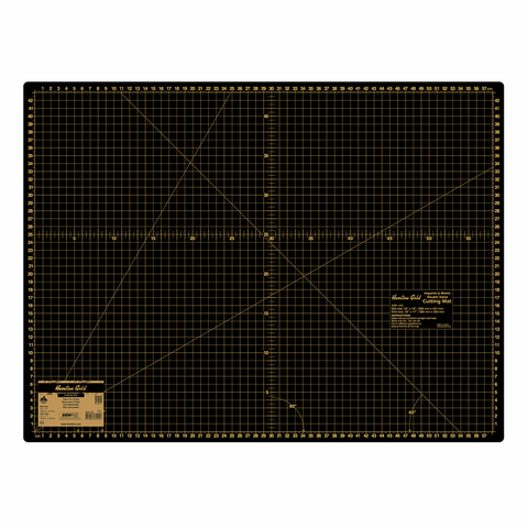 Premium Large A2 Cutting Mat - 60cm x 45cm *Hemline Gold Edition*
