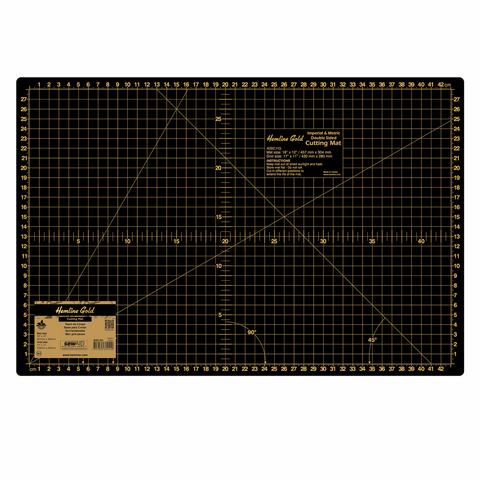 Premium Medium A3 Cutting Mat - 45cm x 30cm *Hemline Gold Edition*